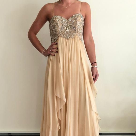 Dresses Beautiful Champagne Colored Prom Dress Poshmark